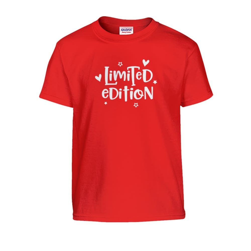 Limited Edition Kids Tee - Red / S - Kids