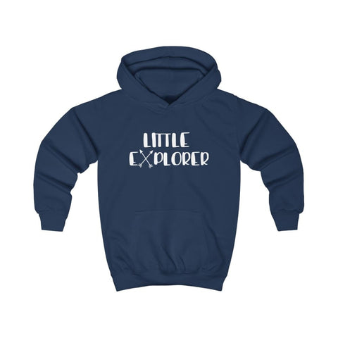 Little Explorer Kids Hoodie - Oxford Navy / XS - Kids clothes