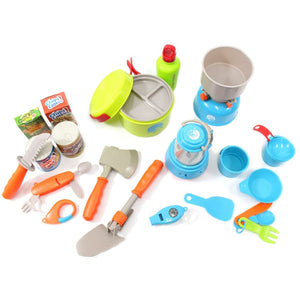 Little Explorers Camping Gear Toy Play Set 20pcs