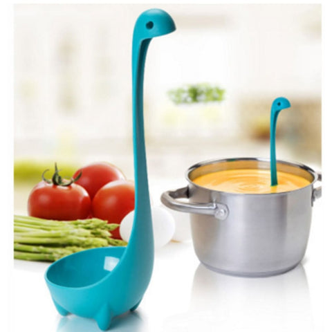 Image of Loch Ness Monster Cooking Ladles 3pc