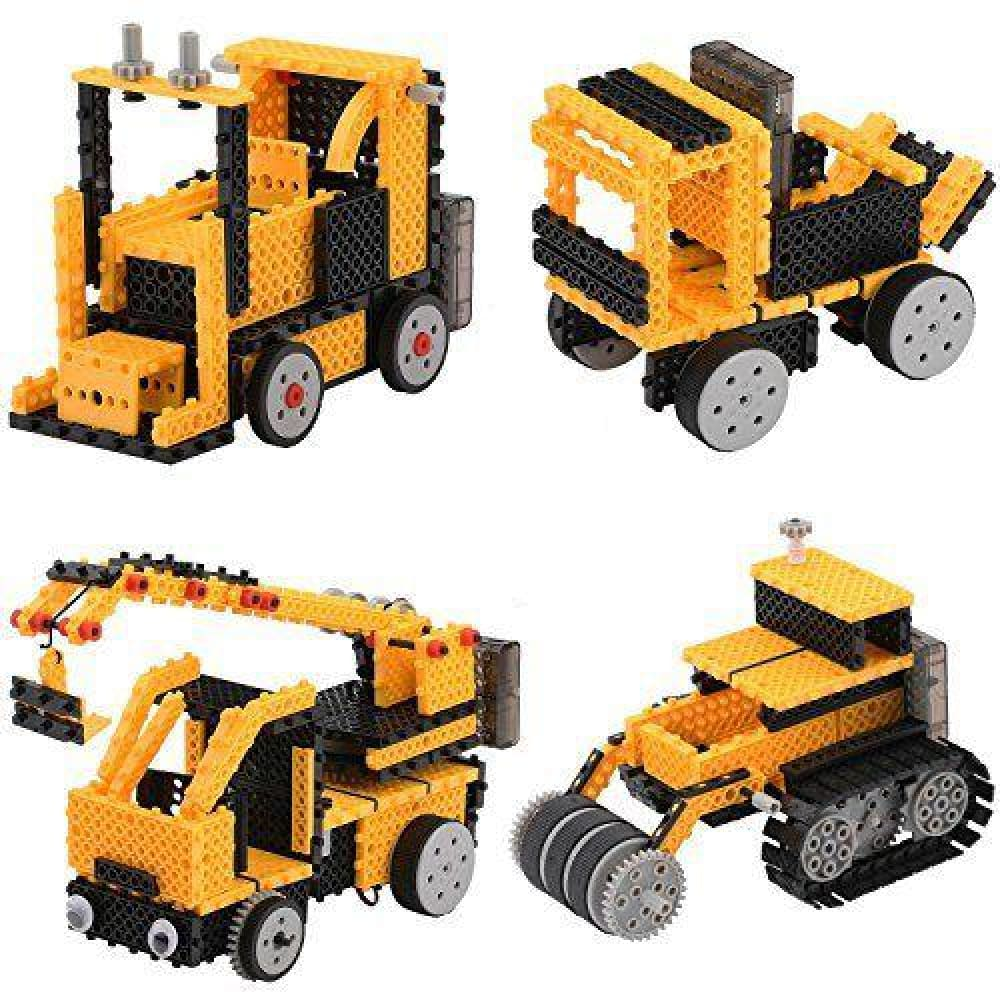 Motorized Construction Truck Building Kit