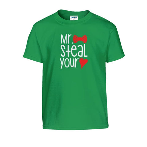 Image of Mr. Steal Your Heart Kids Tee - Irish Green / S - Kids