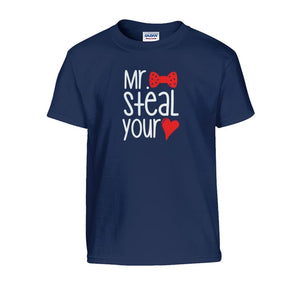 Mr. Steal Your Heart Kids Tee