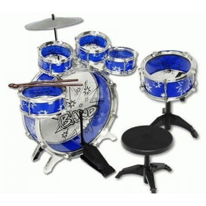 Musical Instrument Drum Playset (Blue)