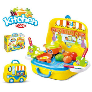 Portable Kitchen Playset 24pcs