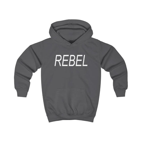 Image of Rebel Kids Hoodie - Charcoal / XS - Kids clothes