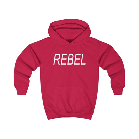 Image of Rebel Kids Hoodie - Fire Red / XS - Kids clothes