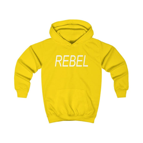 Image of Rebel Kids Hoodie - Sun Yellow / XS - Kids clothes