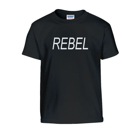 Image of Rebel Kids Tee - Black / S - Kids