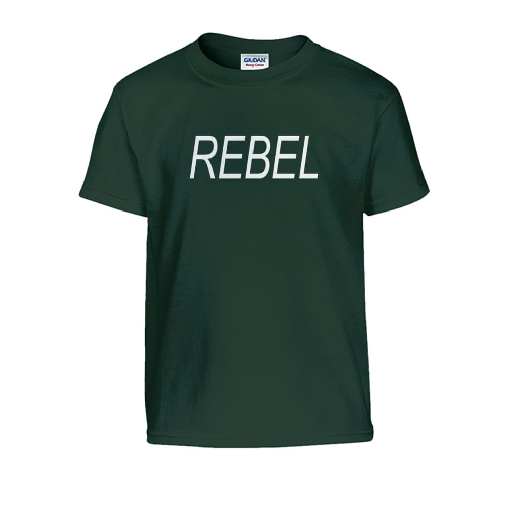 Rebel Kids Tee - Forest Green / S - Kids