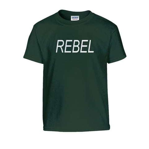 Image of Rebel Kids Tee - Forest Green / S - Kids