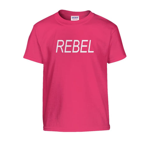 Image of Rebel Kids Tee - Heliconia / S - Kids