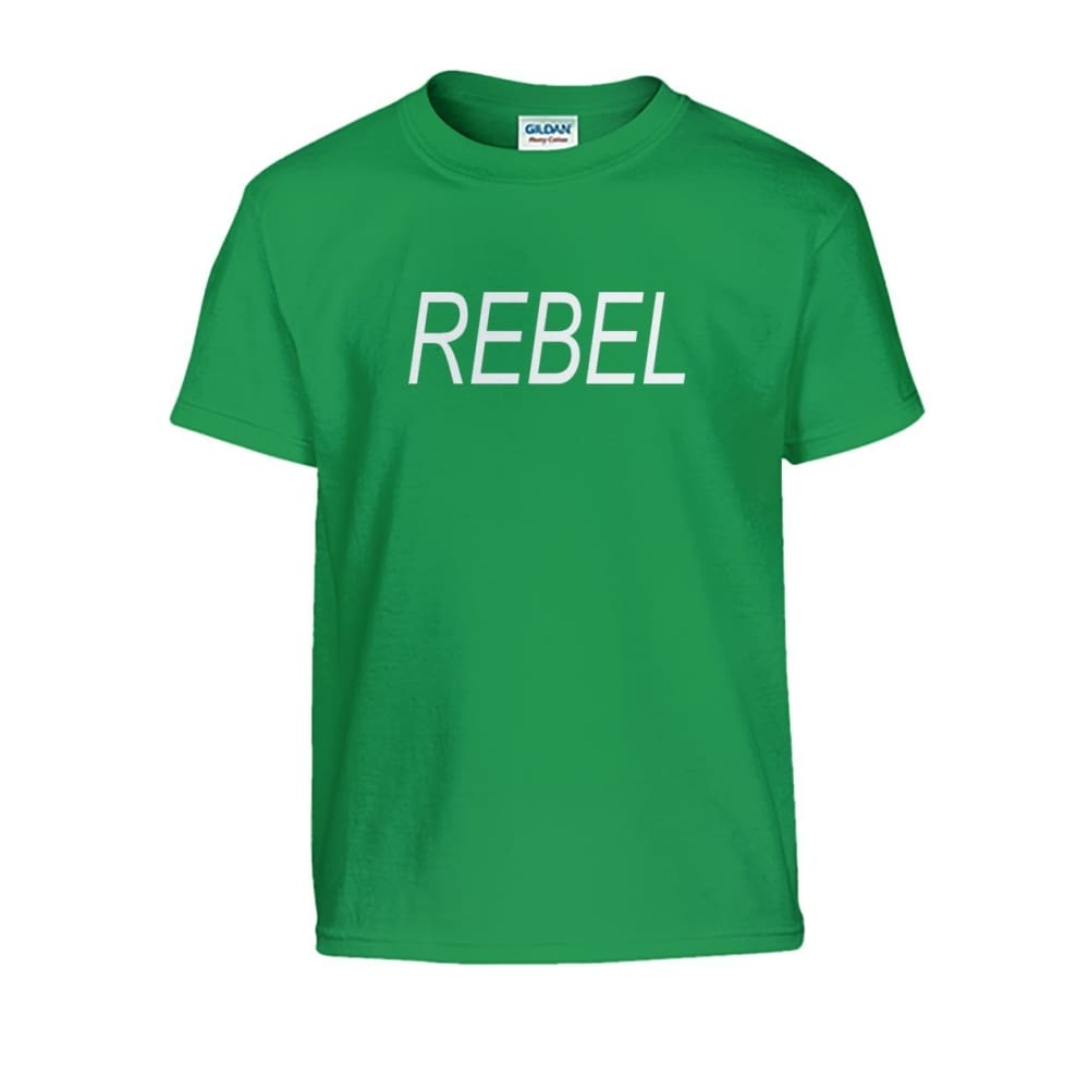 Rebel Kids Tee - Irish Green / S - Kids