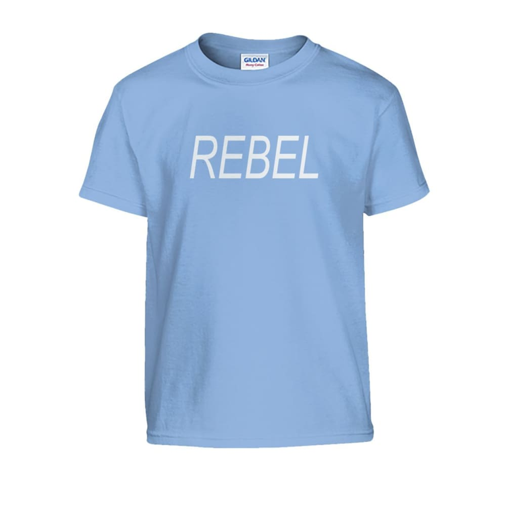 Rebel Kids Tee - Light Blue / S - Kids
