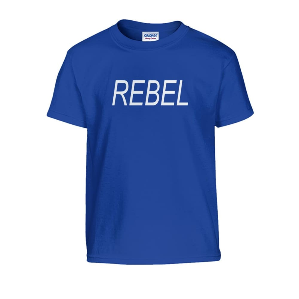 Rebel Kids Tee - Royal / S - Kids