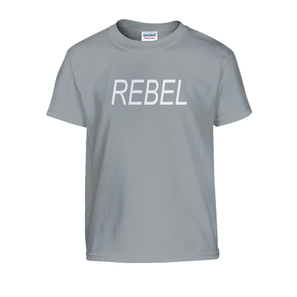 Rebel Kids Tee - Sport Grey / S - Kids