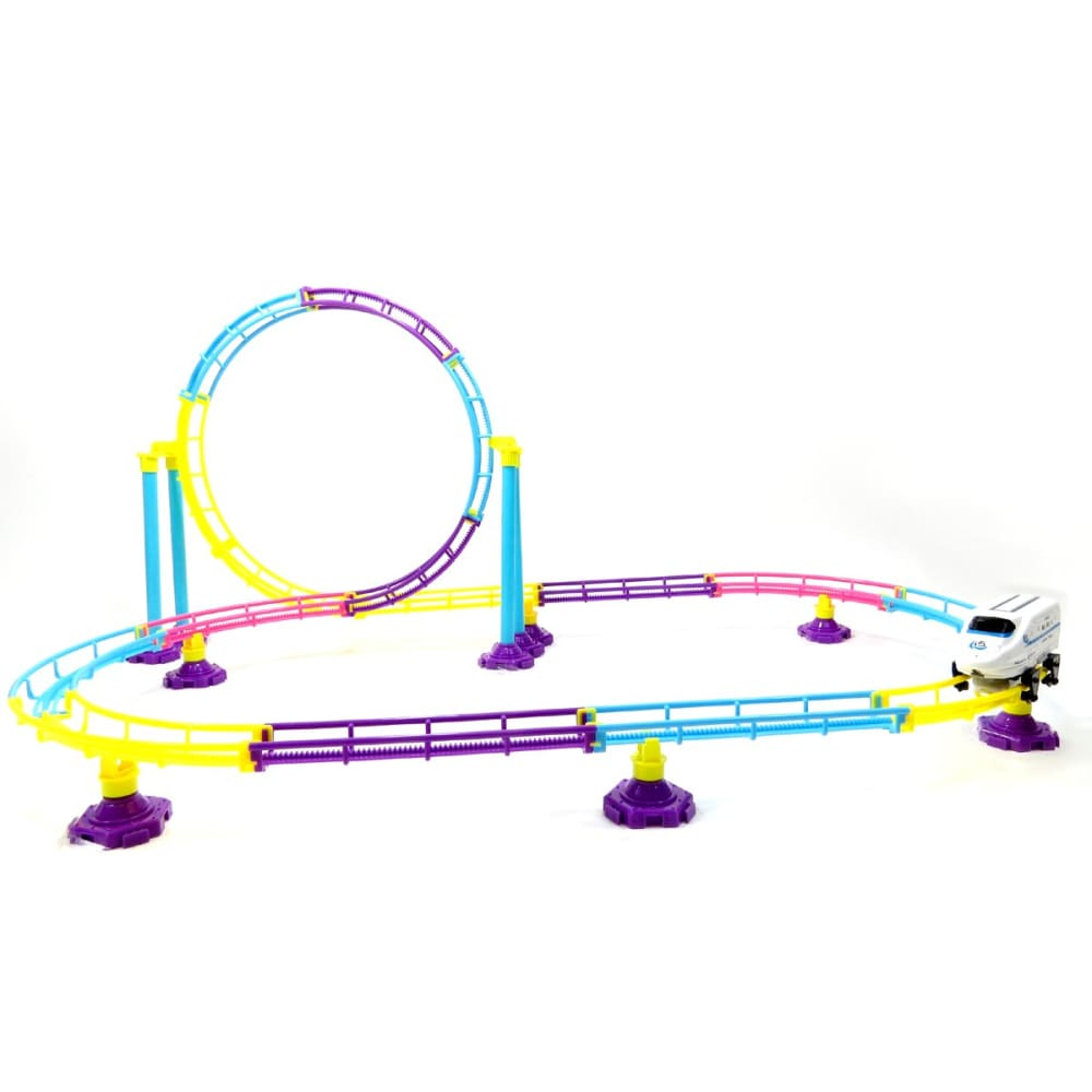 Roller Coaster Bullet Train Toy (77 Pcs)