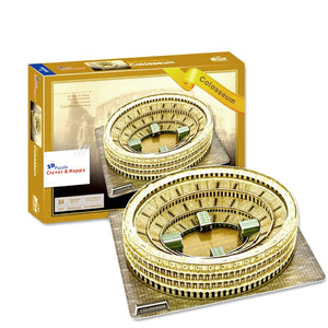 Roman Colosseum 3D Puzzle 84 Pieces