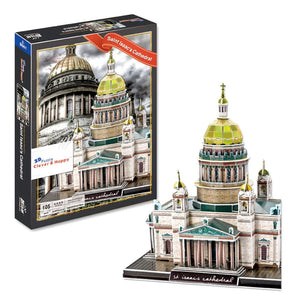 Saint Isaacs Cathedral 3D Puzzle 105 Pieces