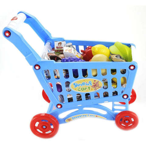Shopping Cart Playset (Blue)