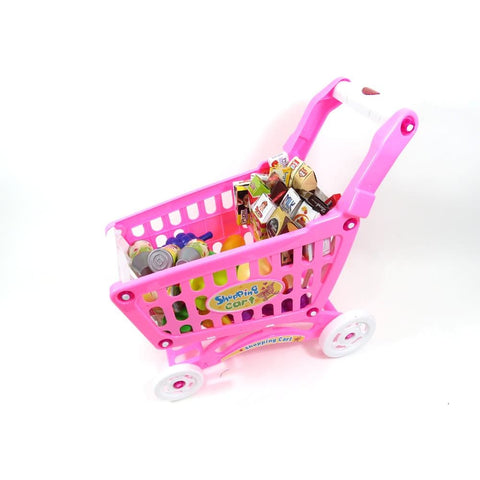 Shopping Cart Playset (Pink)