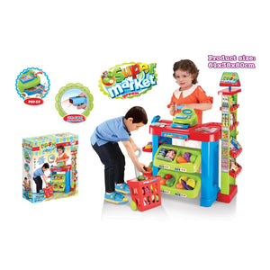 Super Market With Cash Register Playset