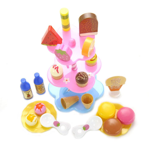 Sweet Treats Ice Cream And Desserts Tower Play Set