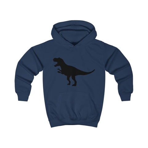 Image of T-Rex Kids Hoodie - Oxford Navy / XS - Kids clothes