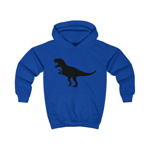 Image of T-Rex Kids Hoodie - Royal Blue / XS - Kids clothes