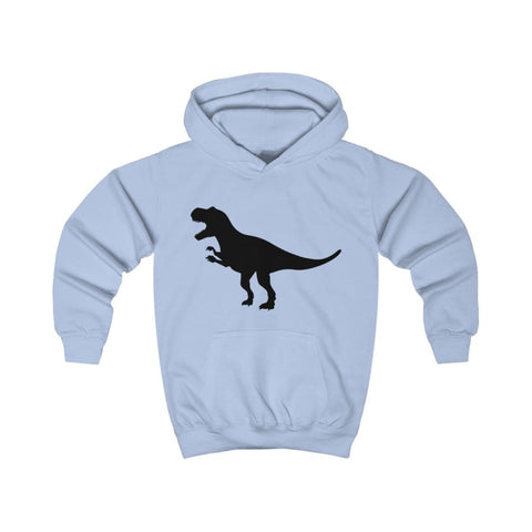 Image of T-Rex Kids Hoodie - Sky Blue / XS - Kids clothes