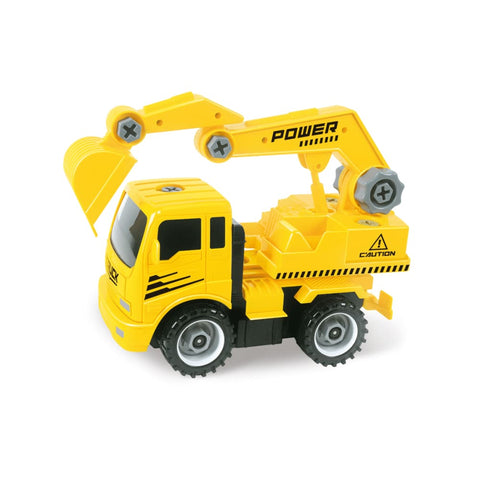 Take-A-Part Excavator Truck Set