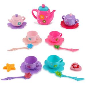 Tea Party Pretend Playset For Kids 21-Piece