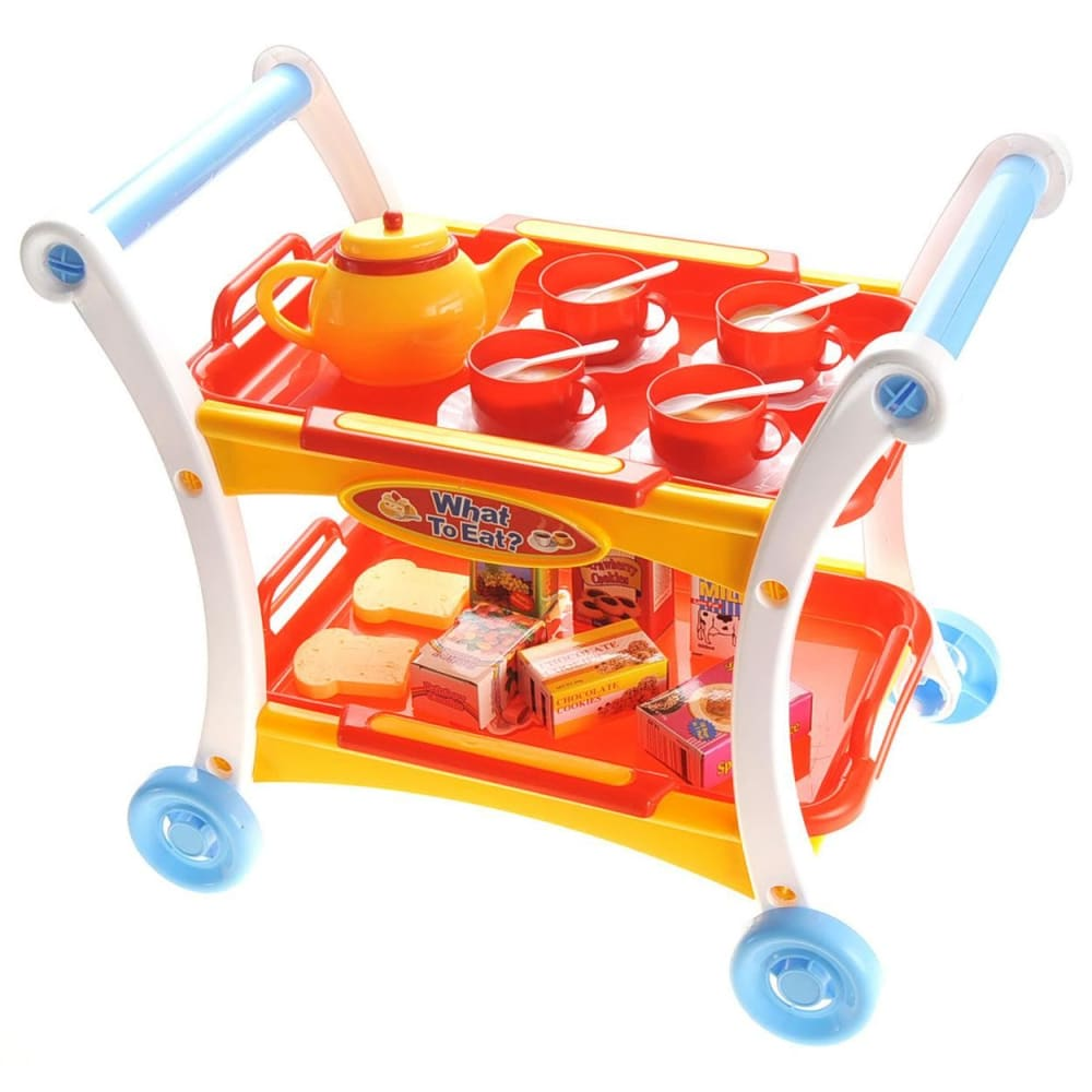 Tea Time Trolley Cart Pretend Play Set