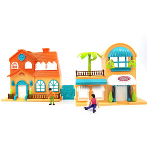 Toy Doll House Playset