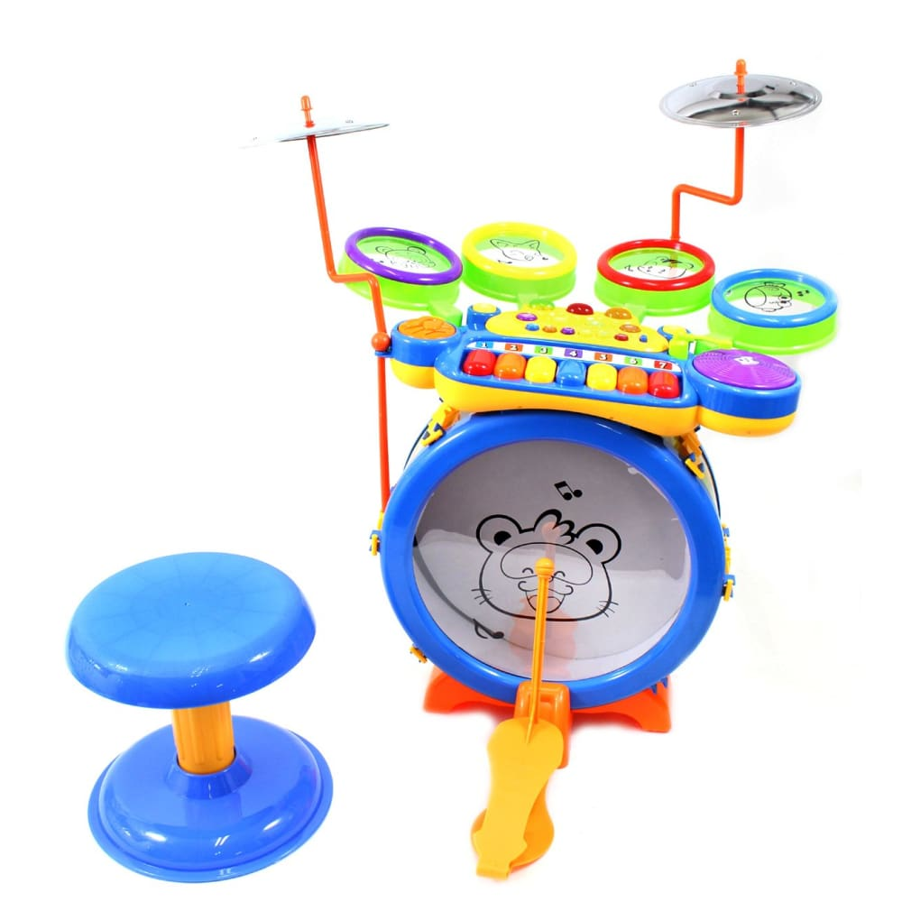 Toy Drum & Keyboard Play Set For Children