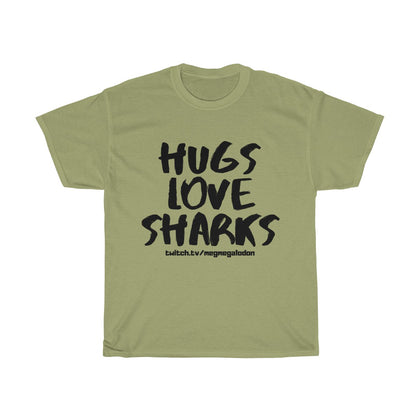 Hugs Love Sharks- Tee