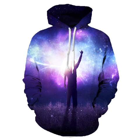 Reach For The Stars 3D Hoodie