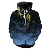Shenron Wishes Dragon Ball Z 3D Hoodie