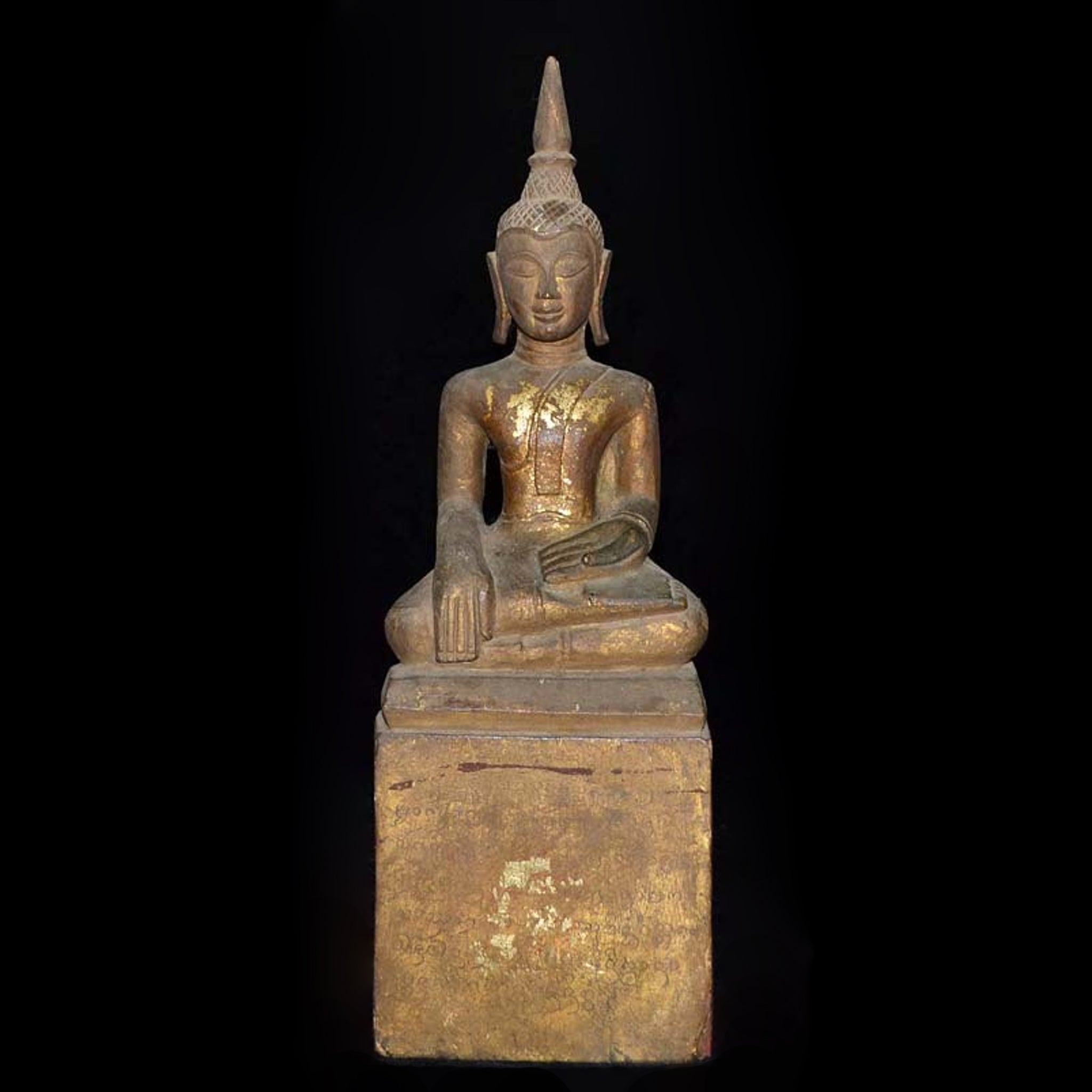 Carved Buddha Image, Thailand, Early 20th Century