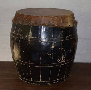 Older Drum With Fine Voice
