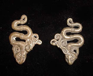 Little Hanging Aso Dayak Ear Weights, Borneo
