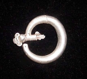 Old Yao Silver Ear Ornament