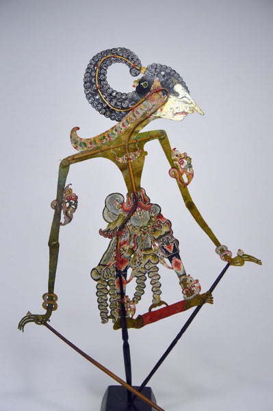 Old Wayang Puppet From Java