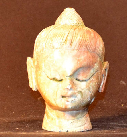 Head of Buddha, Stone