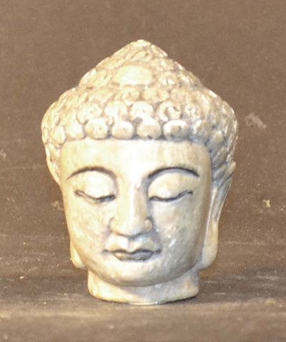 Head Of Buddha, Carved Stone