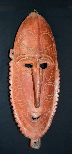 Mask, Old PNG, Ramu River