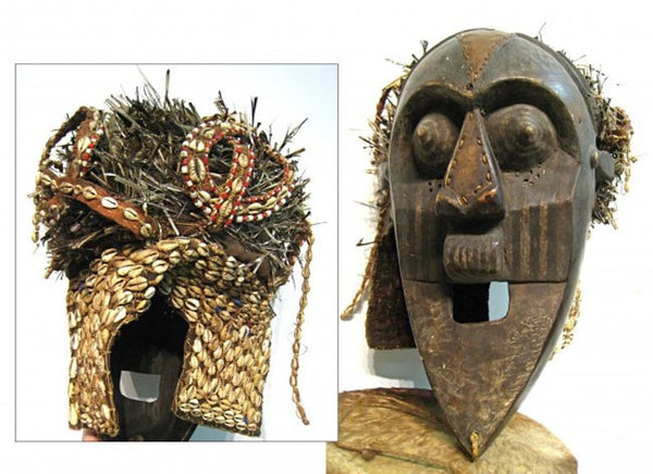 Elaborate African Mask