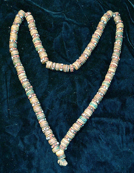 Bone Bead Prayer Mala From Nepal