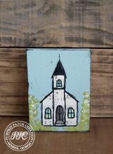 Load image into Gallery viewer, Hymnal Church Original Mixed Media Art