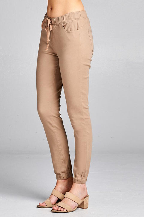 It's Friday - drawstring hem pants - The Luxstop